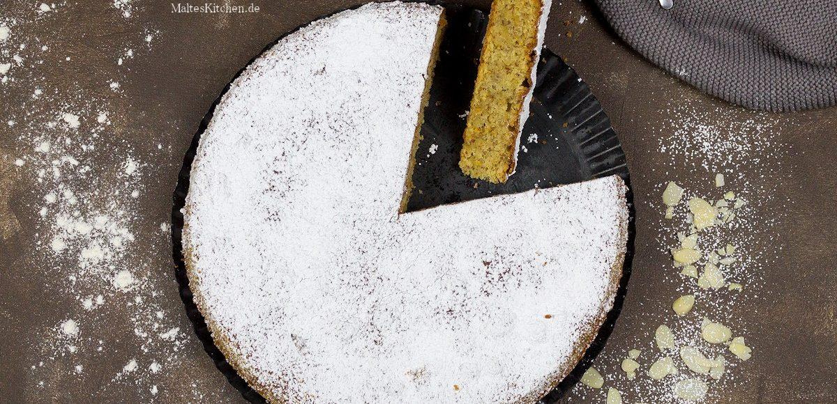 Rezept mallorquinischer Mandelkuchen