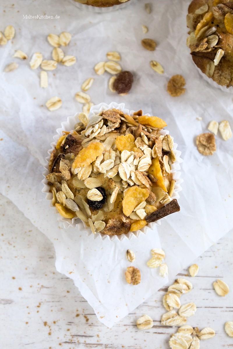 Muffins mit Müsli on Top