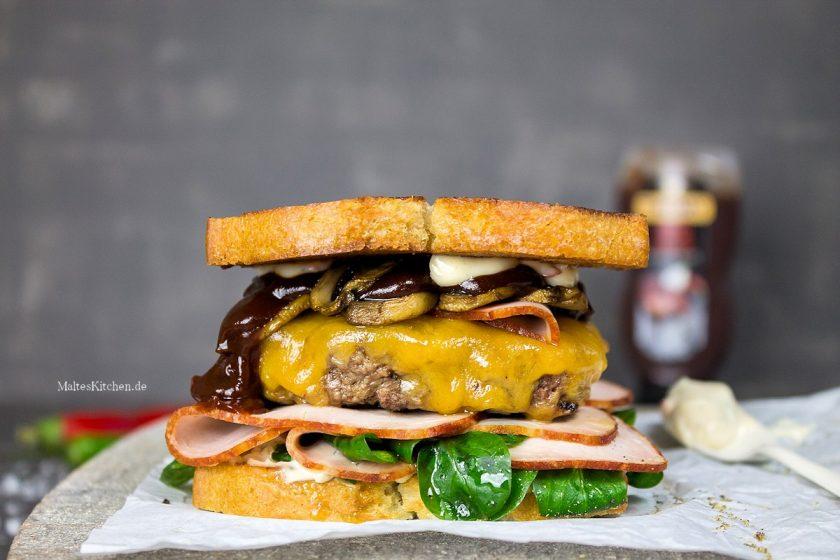 Saftiger Real Fast Food Burger