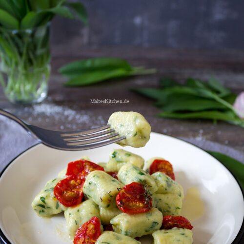 Gnocchi mit Bärlauch und Ricotta