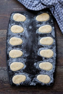 Madeleines Backform