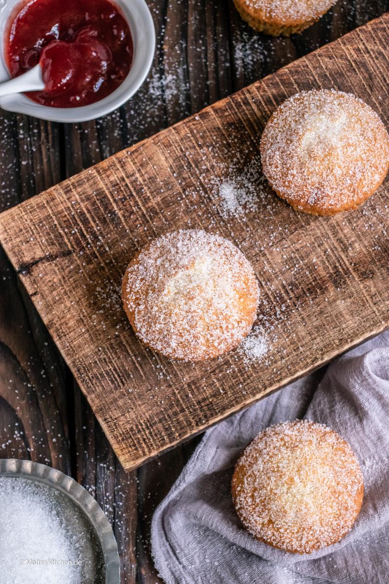 Muffins mit zuckriger Hülle