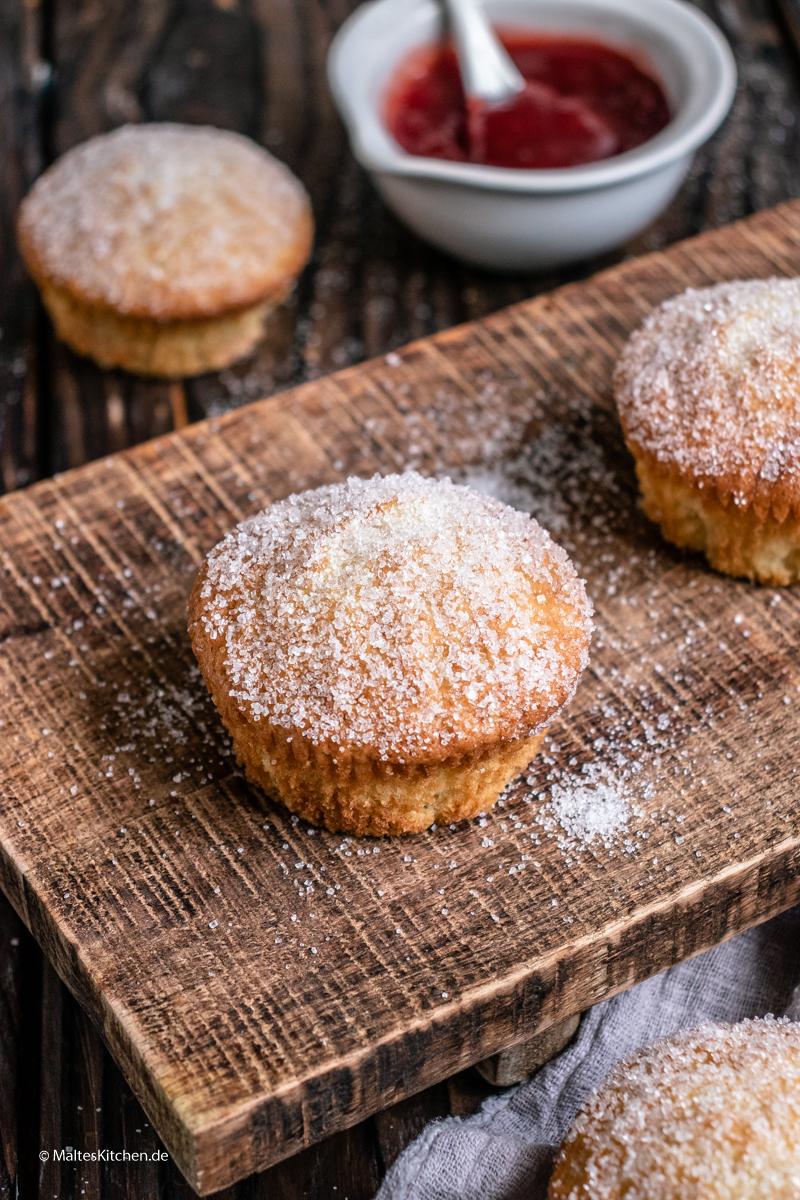 Muffins nach Berliner Art