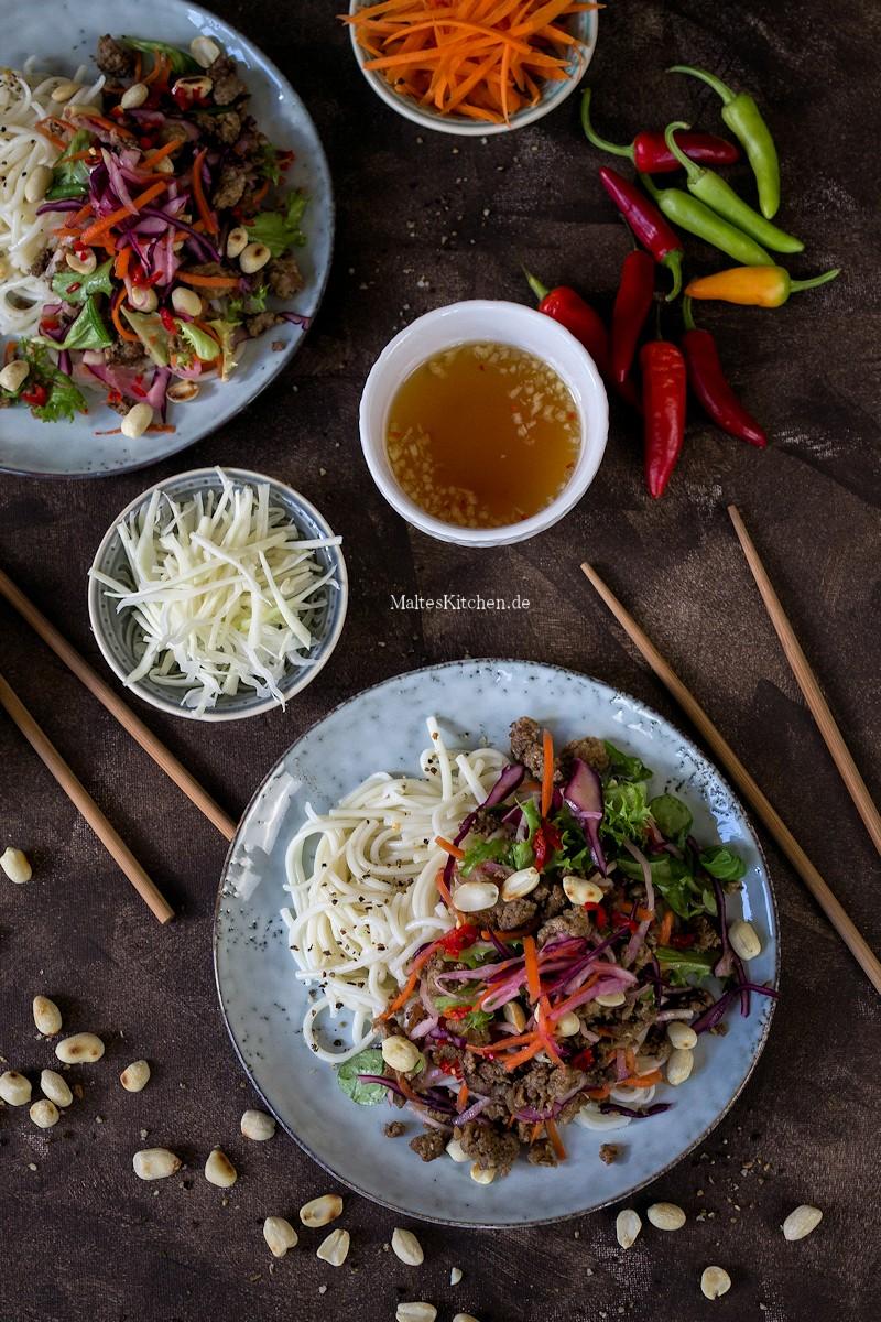 Vietnamesisches Bun Bo Nam Boi