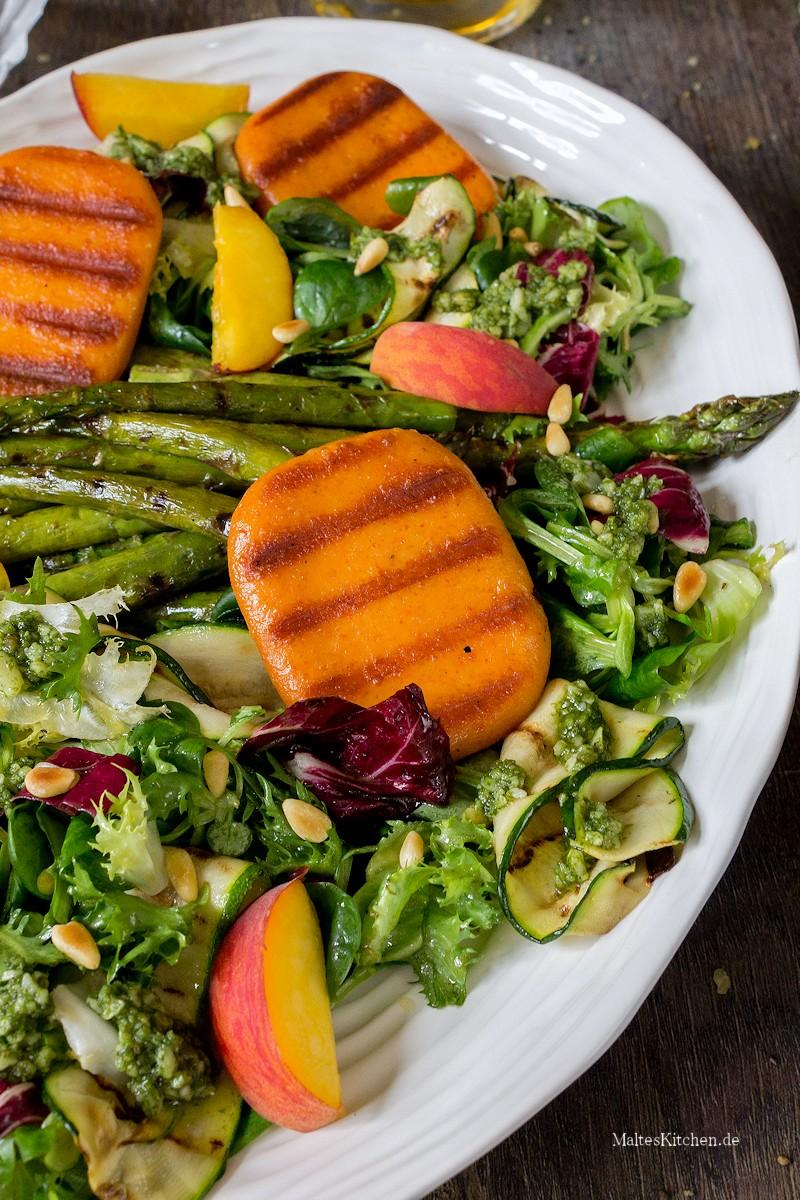 Toller Salat als Beilage zum Grillen