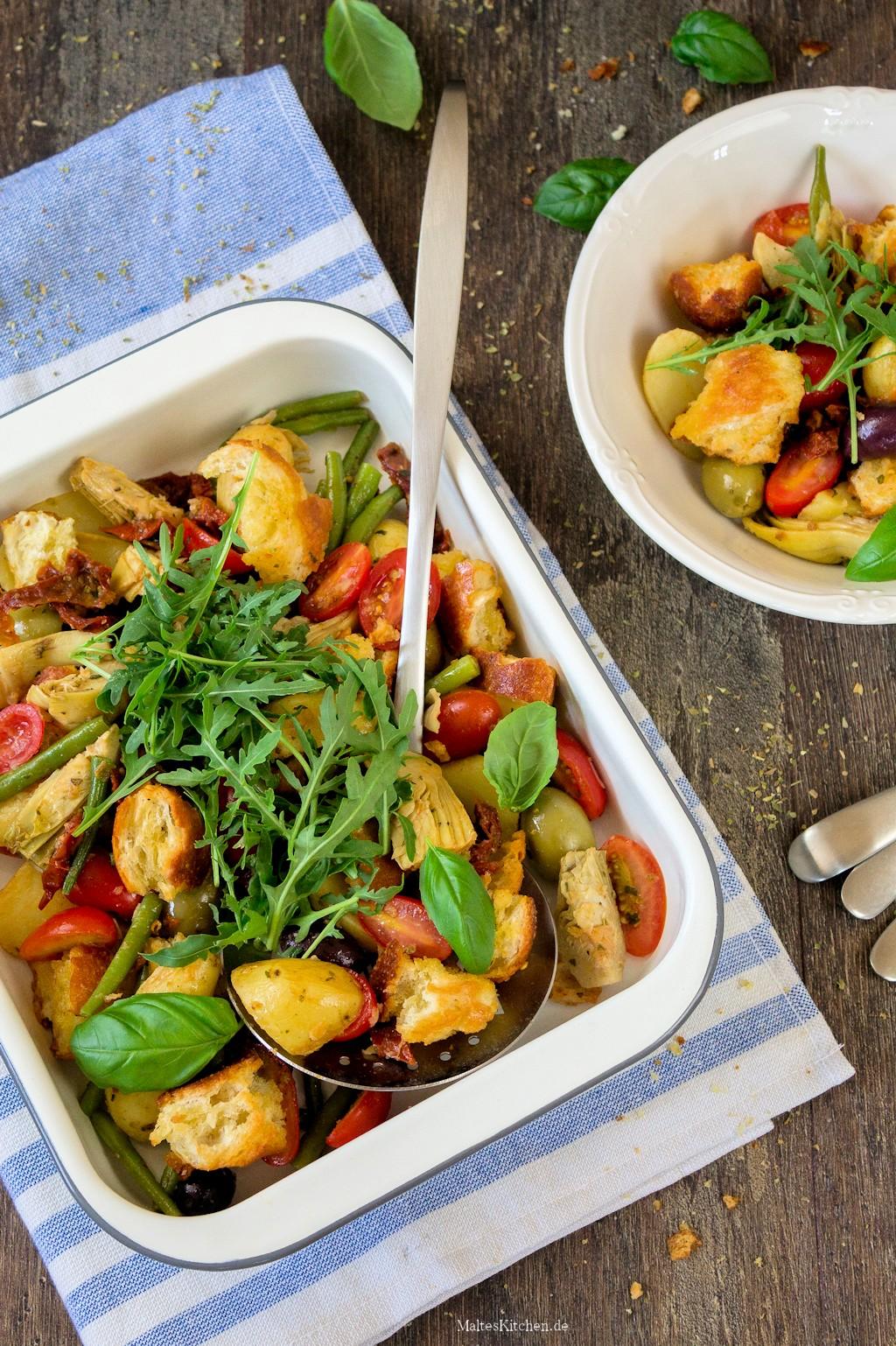 Italienischer Tomaten-Brot-Salat