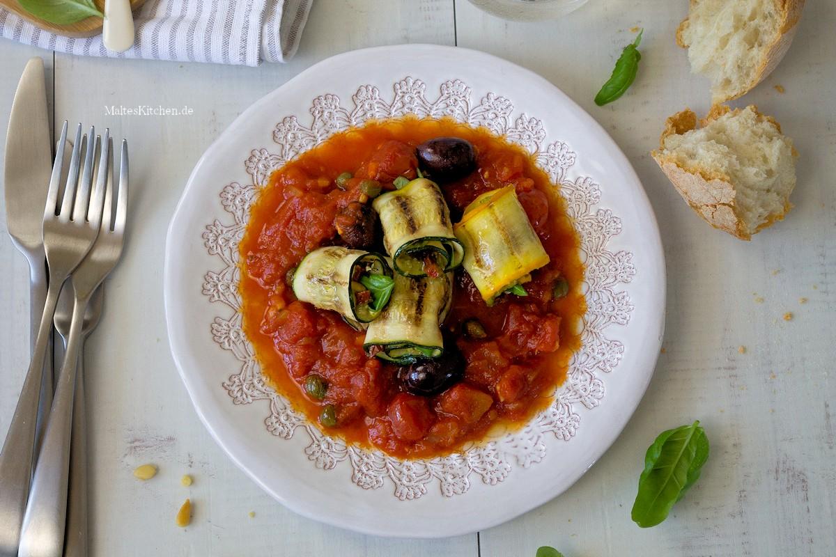 Rezept Involtini di Zucchini