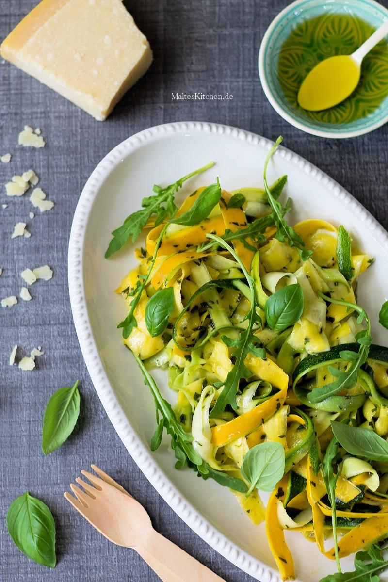 Erfrischender Zucchinisalat