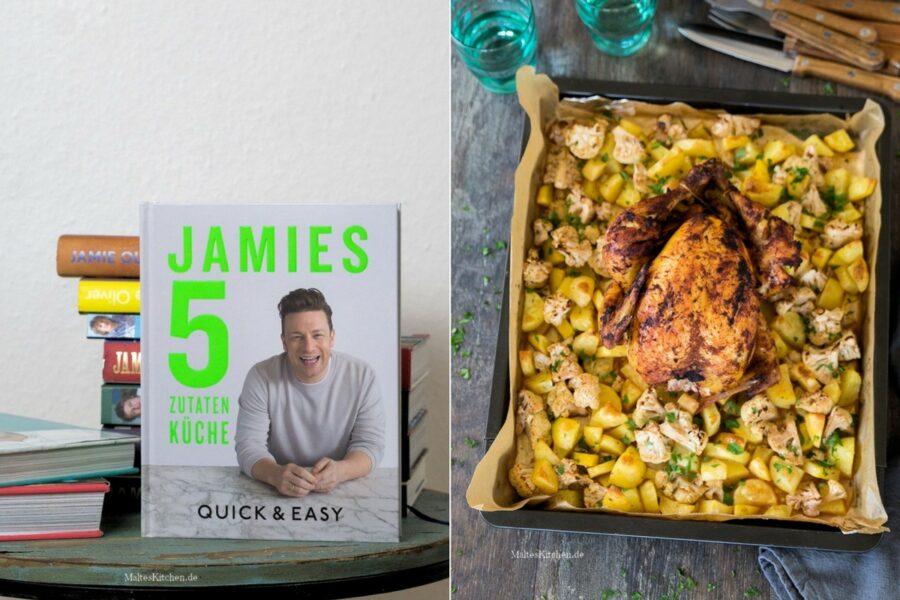 Kochbuch Rezension Jamie Oliver 5 Zutaten Küche