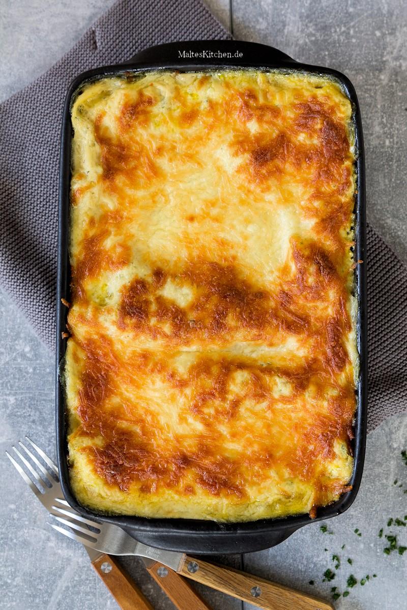 Cremige Kürbis-Lasagne nach Johann Lafer