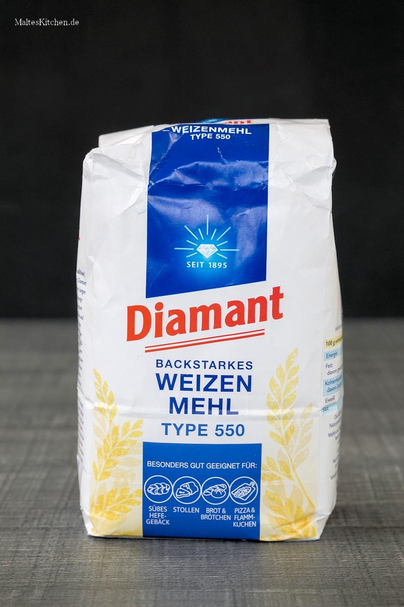 Diamant-Mehl Typ 550