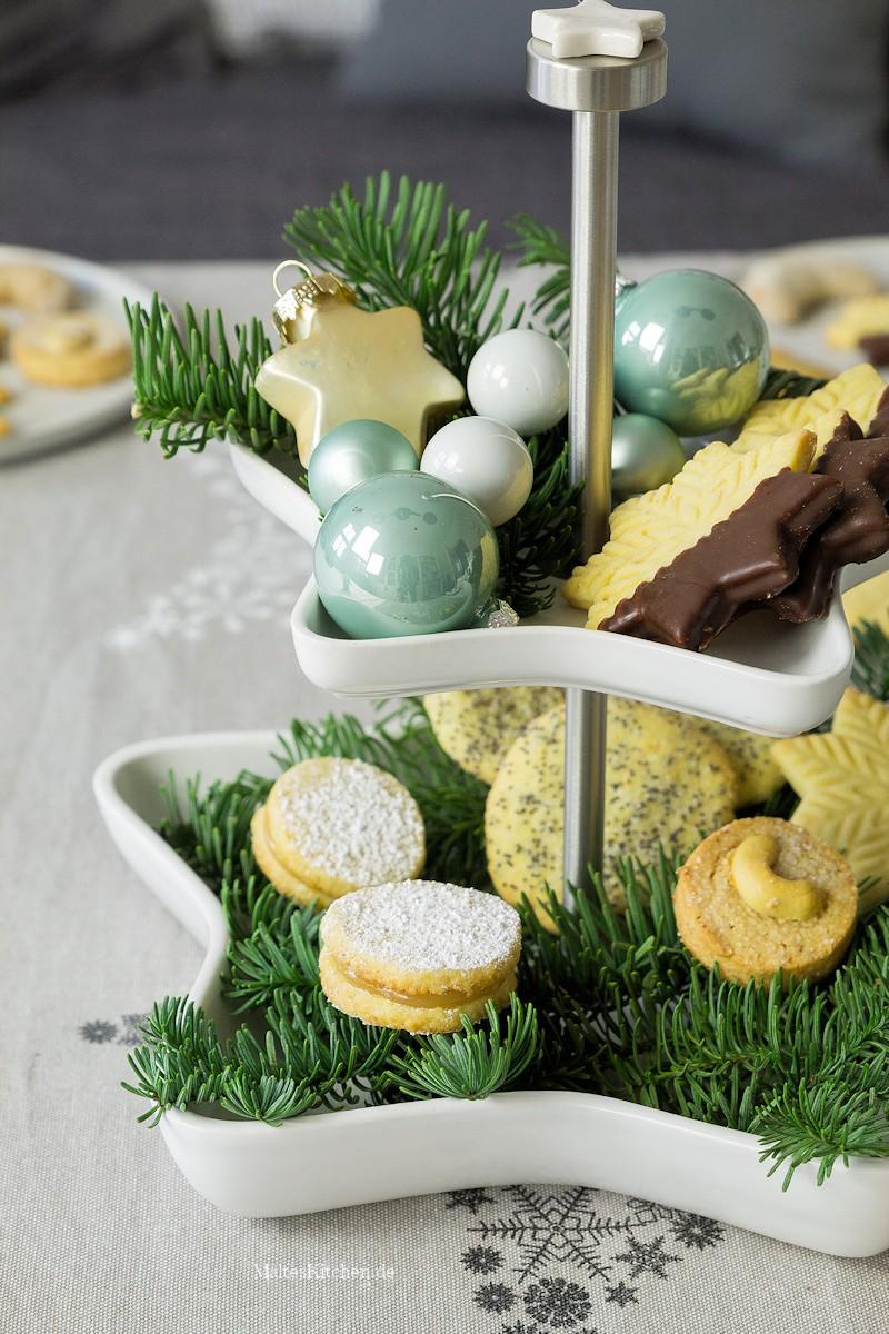 Weihnachtsplätzchen und ASA Selection Etagere