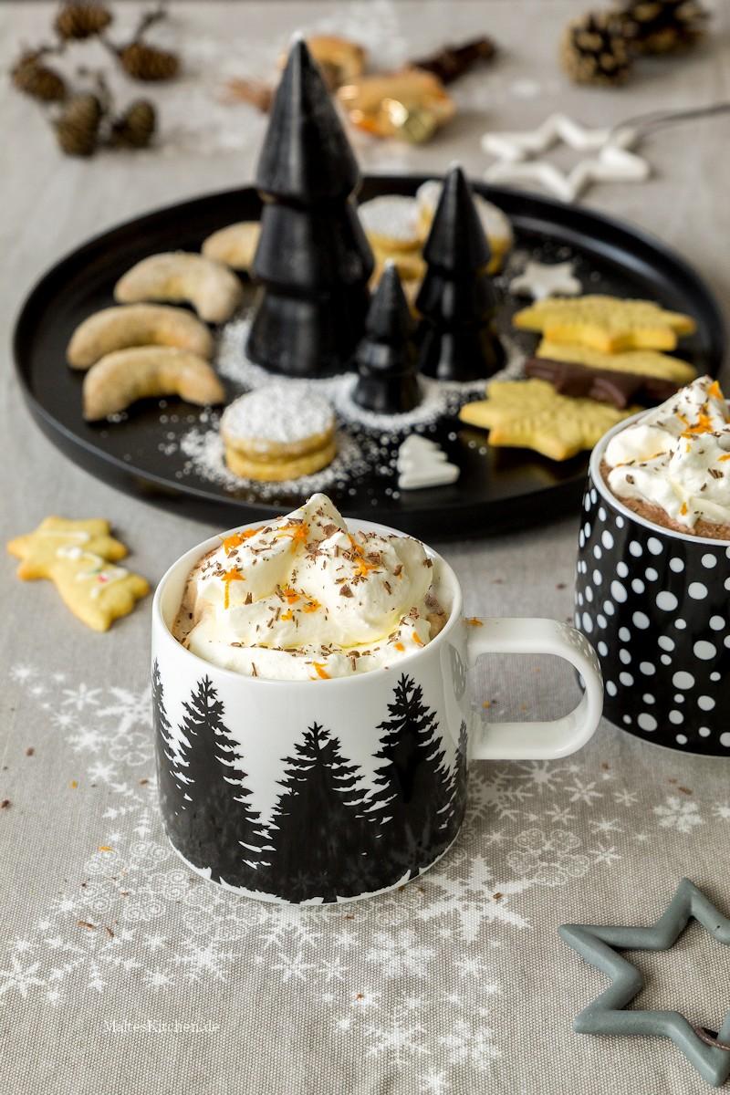Heiße Schokolade in der wunderschönen Tasse von ASA Selection