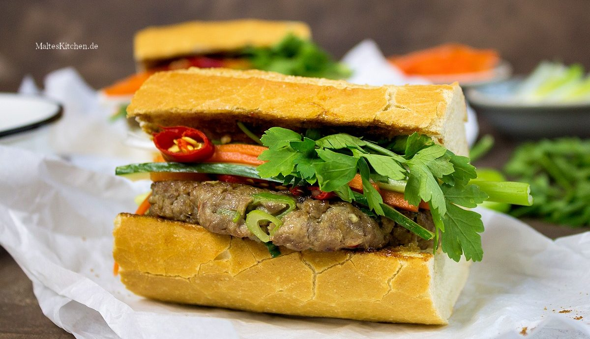 Rezept Banh Mi mit Hackfleisch