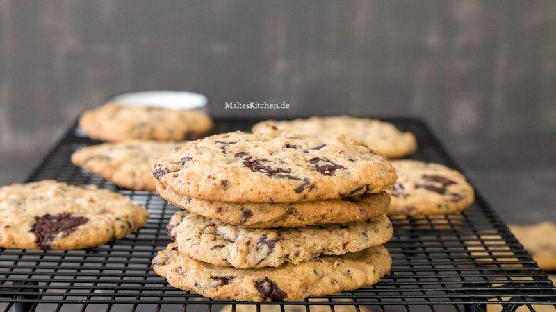 Rezept für leckere Chocolate Chip Cookies