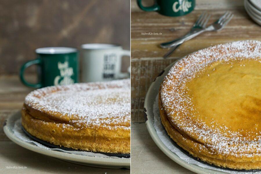 Rezept Cheesecake mit Löffelbiskuit