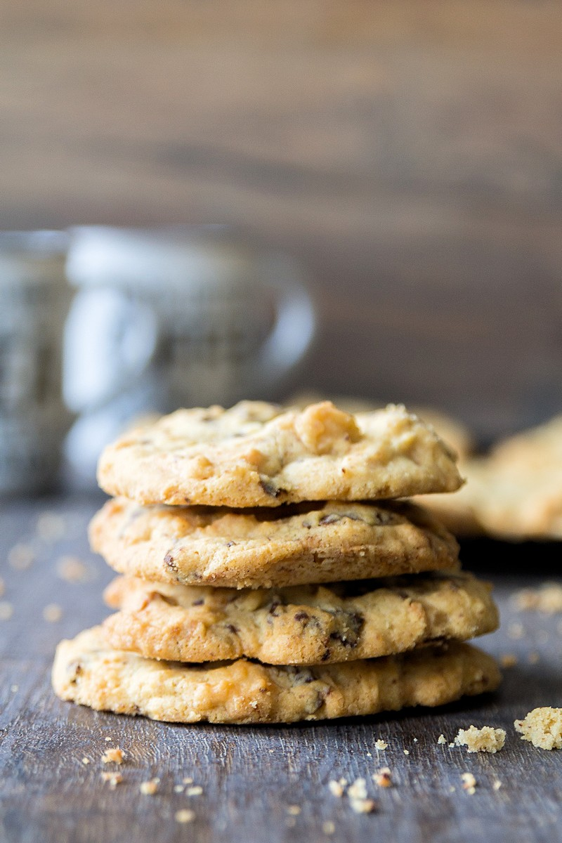 Perfekte Macadamia Cookies