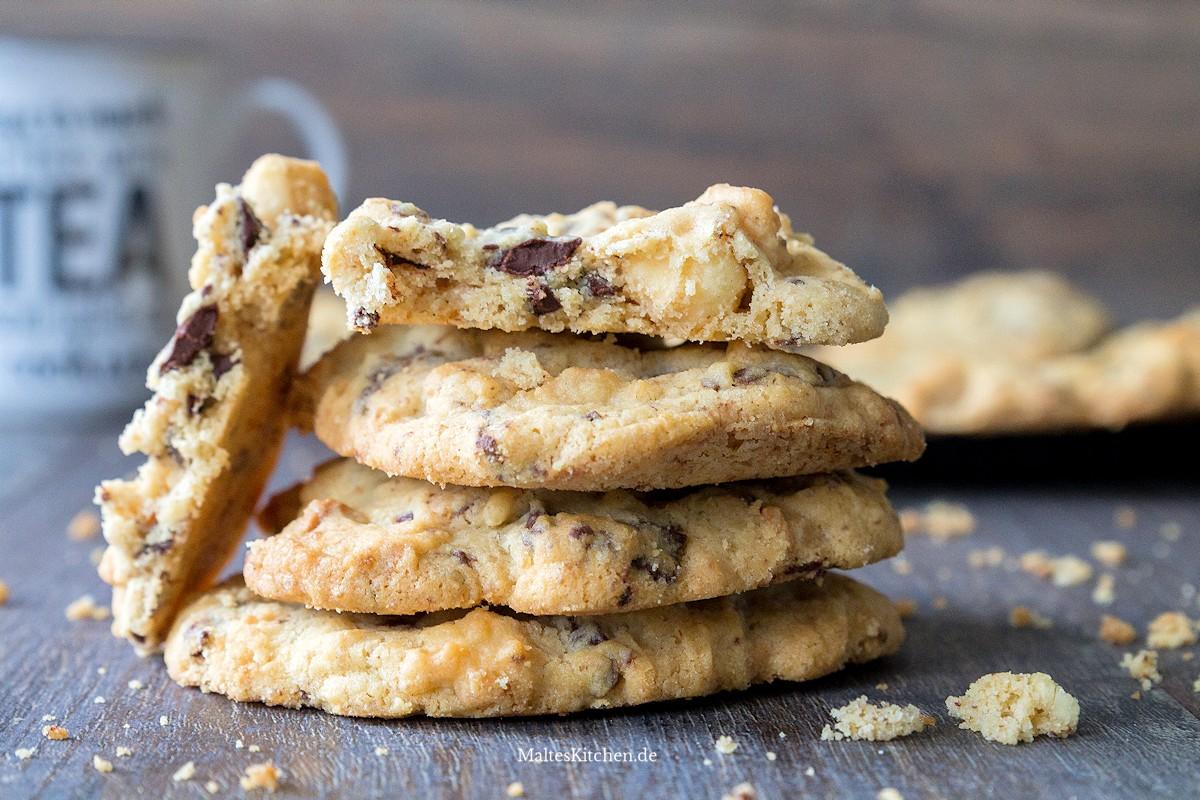 Rezept für Macadamia-Cookies