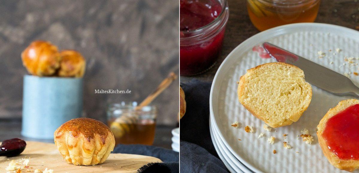 Rezept fluffige Brioche aus der VitAirTurbo von Klarstein