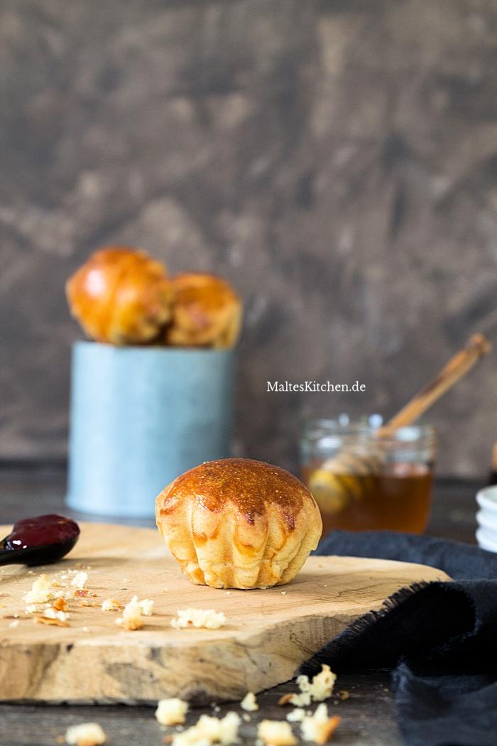 Leckere Butter Brioche aus der VitAir Heißluftfritteuse von Klarstein
