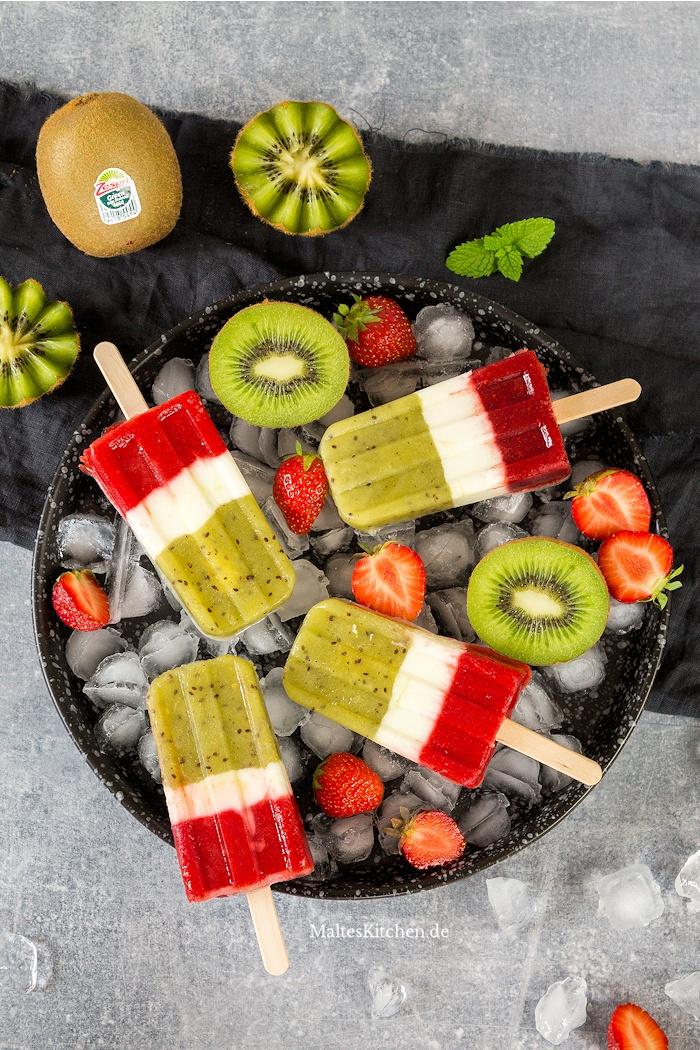 Popsicles mit Kiwi von Zespri
