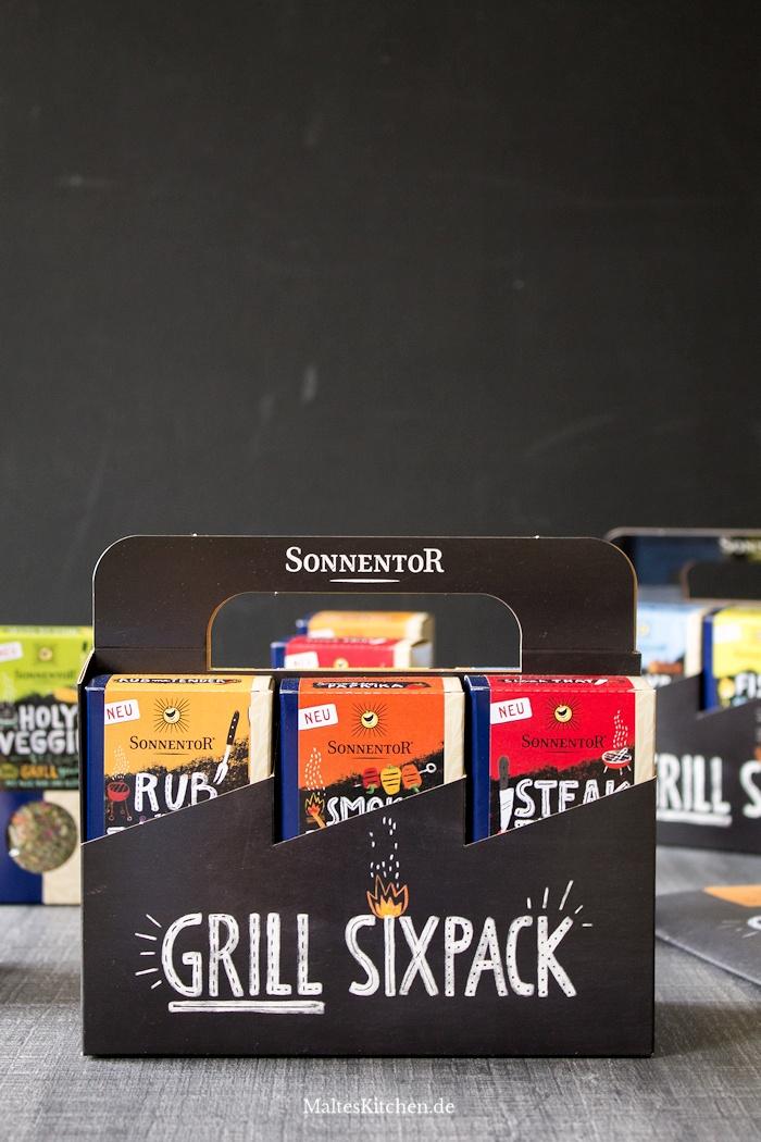 Der Grill Sixpack von SONNENTOR