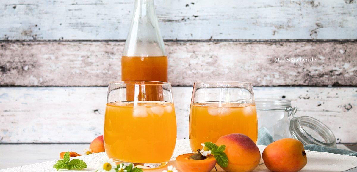 Rezept Aprikosen-Eistee selbstgemacht