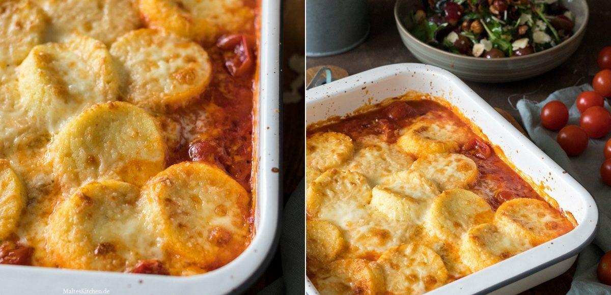 Rezept Griess-Gnocchi römische Gnocchi mit Tomatensauce
