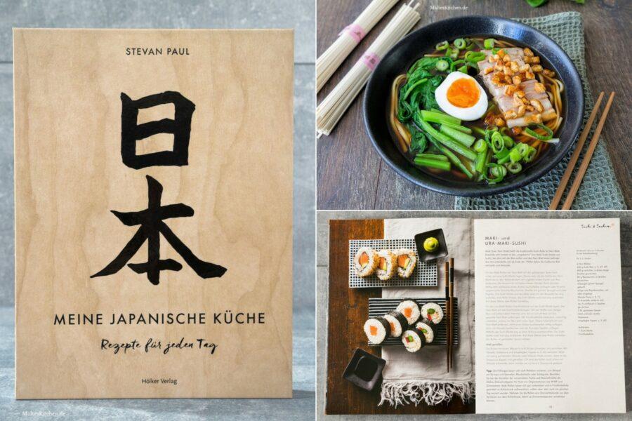Rezension meine Japanische Küche von Stevan Paul