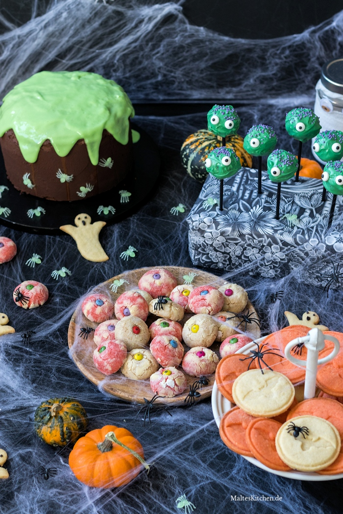 Backen an Halloween