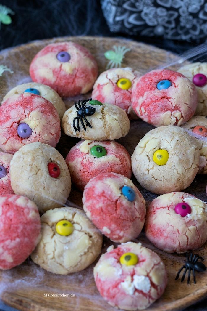 Gruselige Augen-Kekse