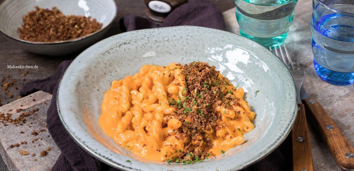 Rezept für Pasta mit Paprikasauce