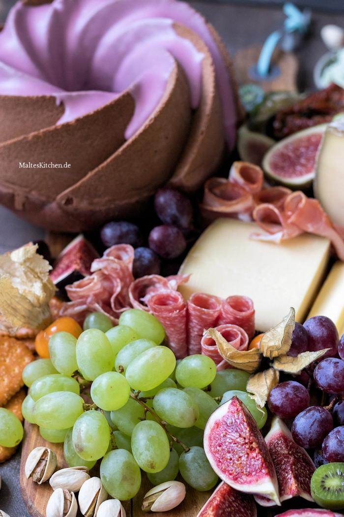 KALTBACH Käseplatte mit Rotwein-Gugelhupf