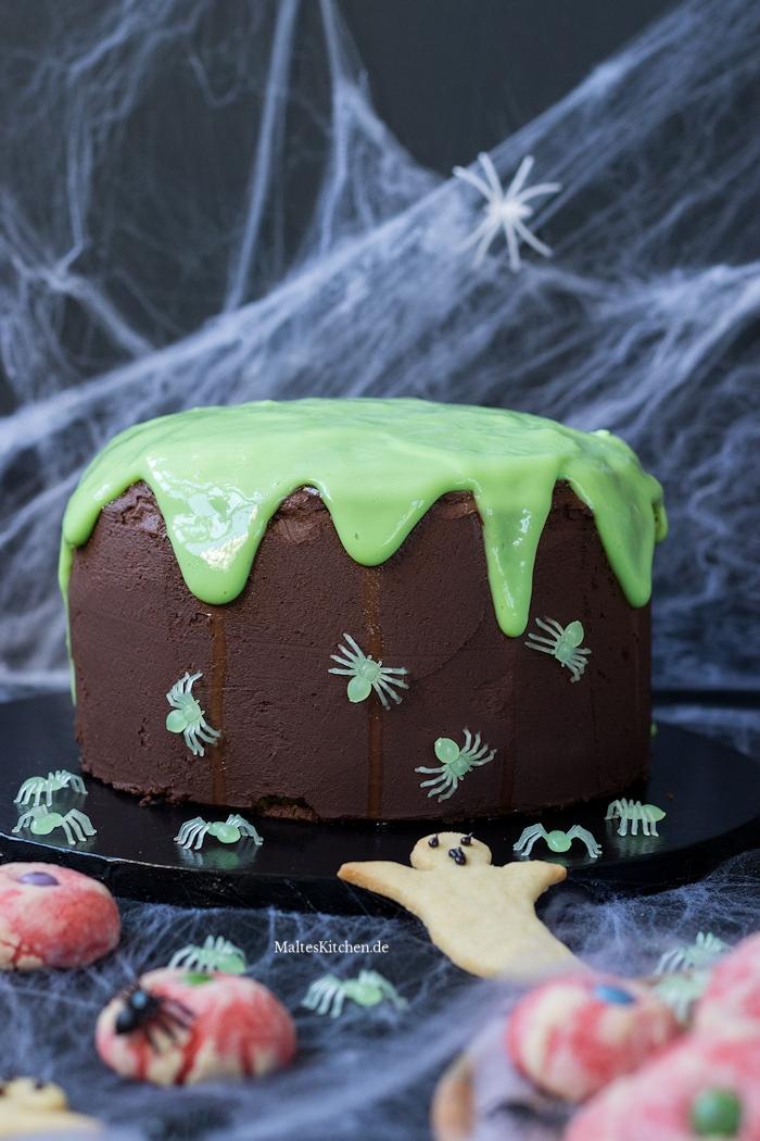 Ekeliger Schleimkuchen für Halloween