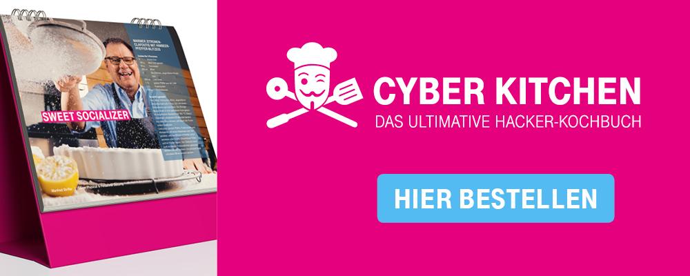 Cyber Kitchen Hacker Kochbuch Deutsche Telekom