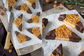 Rezept für leckere Nussecken aus dem Kochbuch Cyber Kitchen