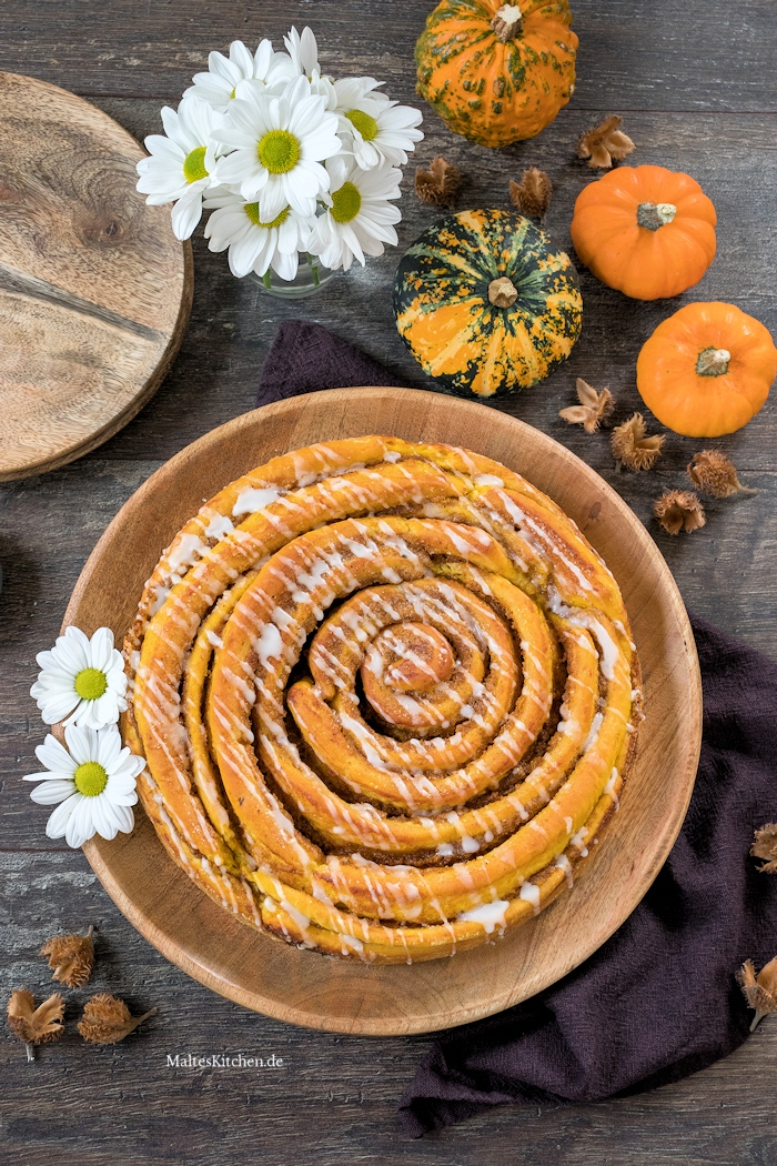Pumpkin Spice Riesenschnecke