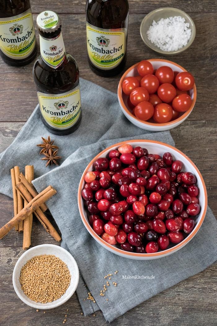 Zutaten Cranberry-Ketchup