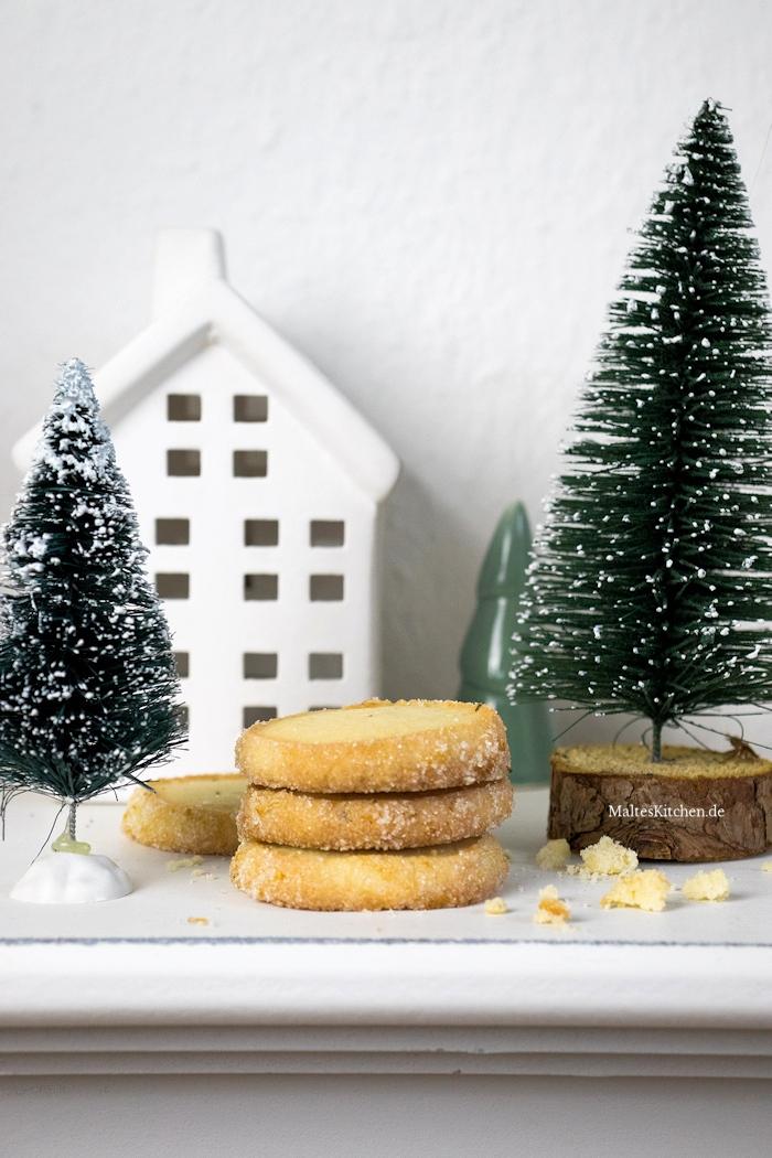 Sehr leckere Heidesand-Rosmarin-Kekse