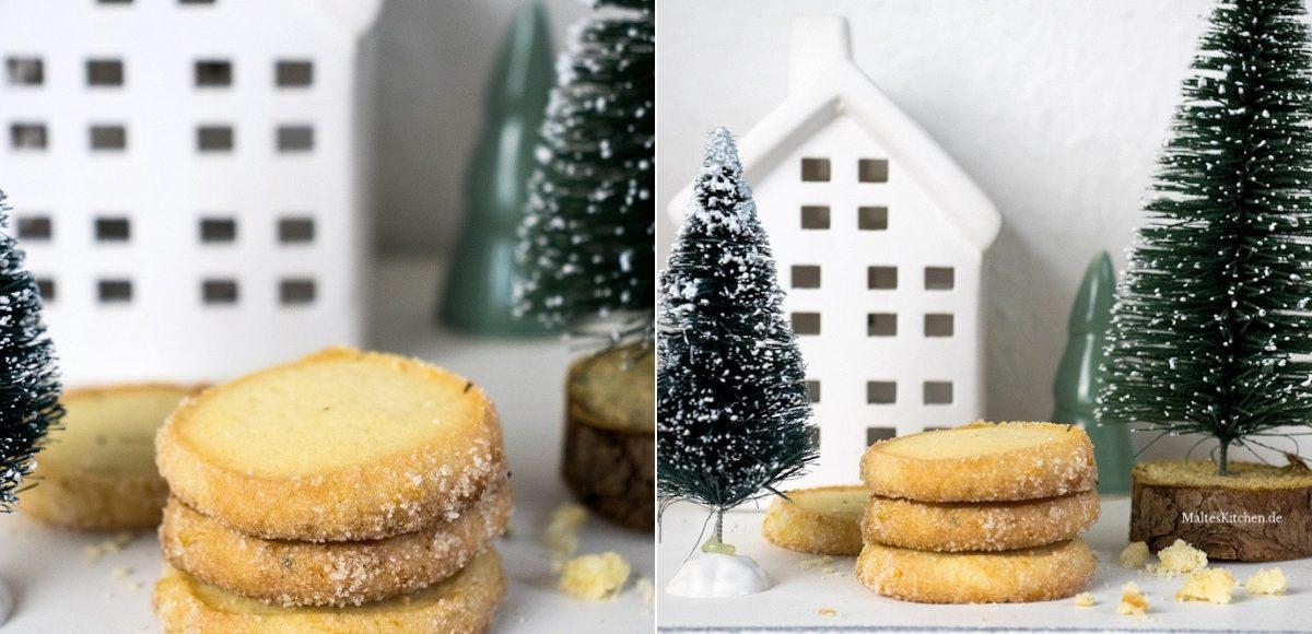 Rezepte Für Weihnachtsplätzchen Kostenlos.Weihnachtsplätzchen Mürbe Rosmarin Heidesand Kekse