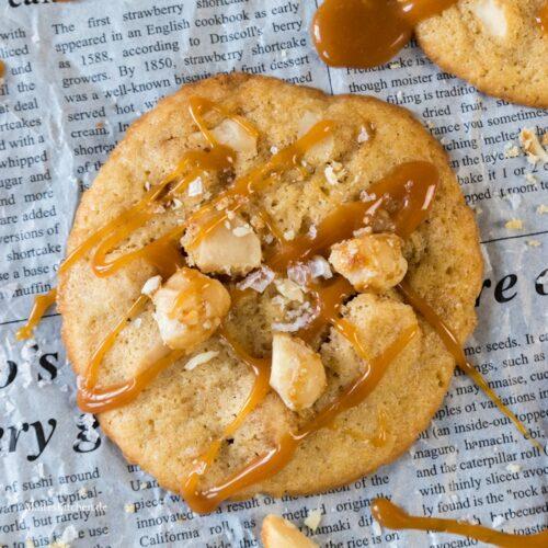 Knusprige Macadamia-Cookies