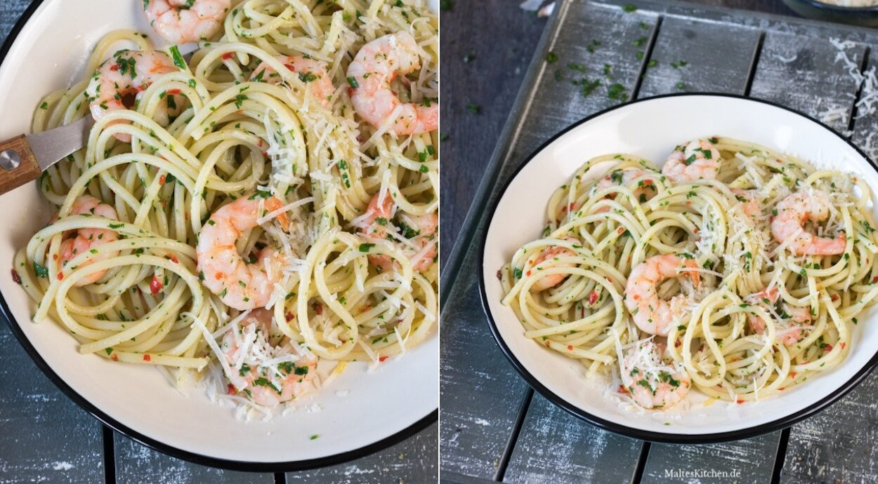 Rezept für Spaghetti Aglio Olio