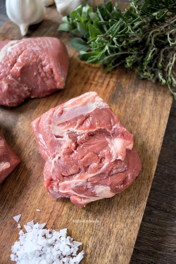 Zartes Lammfleisch aus der Keule