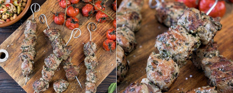 Rezept Lammspieße in Kräuter-Marinade vom Grill