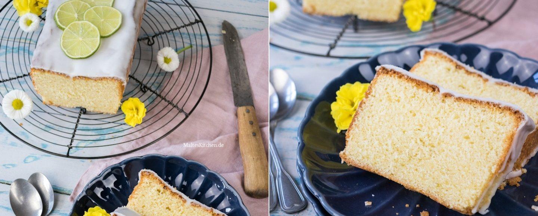 Rezept für einen saftigen Limettenkuchen