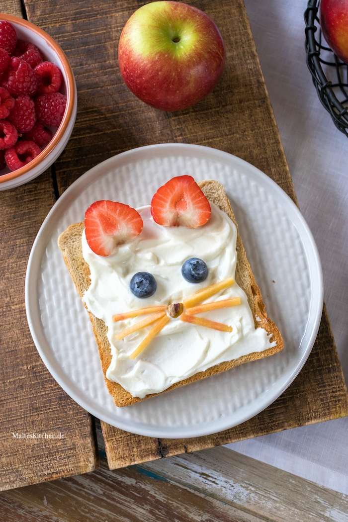Frühstück Toast Maus