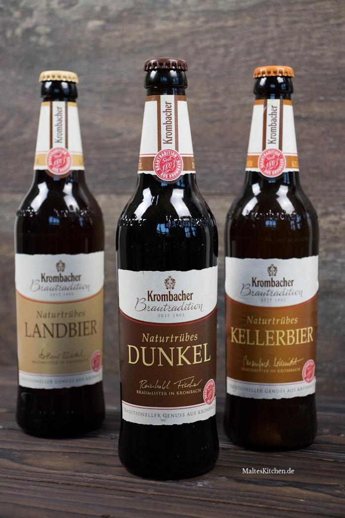 Die Biere der Krombacher Brautradition