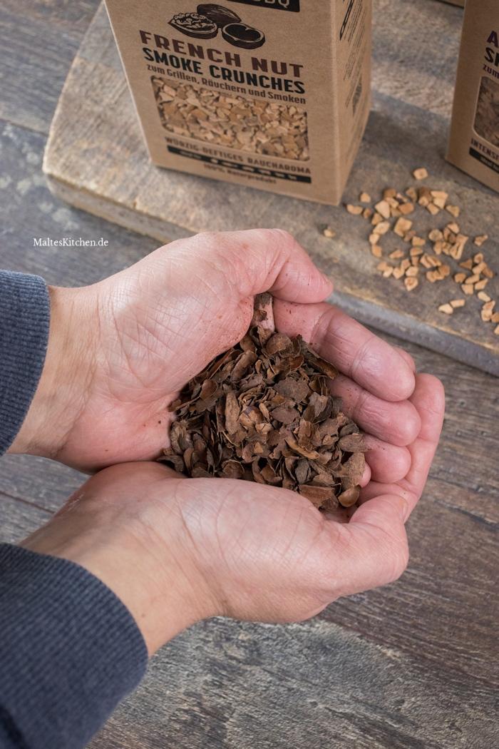 Matador's BBQ Crunches aus Kakaoschalen