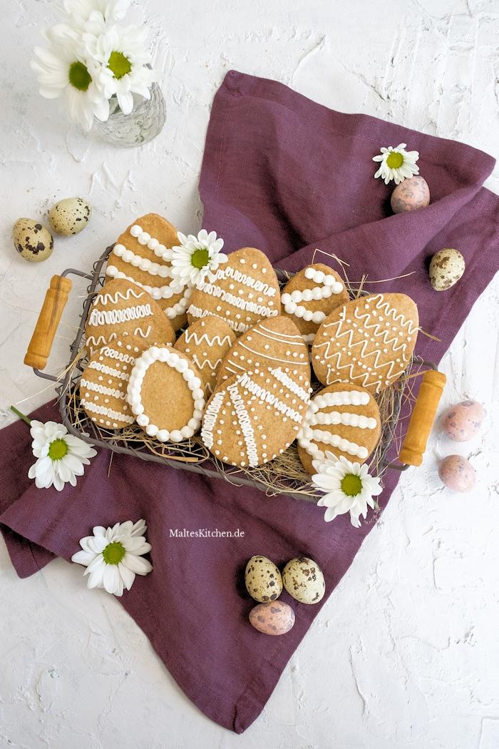 Leckere, mürbe Ostereier Kekse
