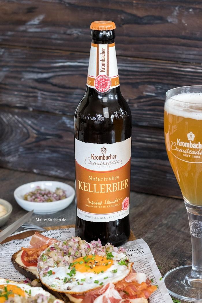 Das naturtrübe Kellerbier von Krombacher Biertradition